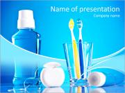 For the prevention of teeth PowerPoint Templates