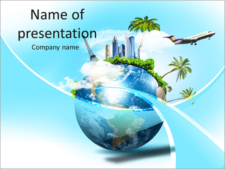 Energy powerpoint templates backgrounds google slides themes land with the tourism map powerpoint template toneelgroepblik Image collections