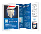 Toothpaste on tooth Brochure Templates