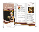 Thai woman Brochure Template