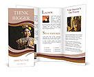 Thai woman Brochure Templates