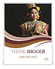 Thai woman Poster Templates