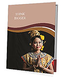 Thai woman Presentation Folder