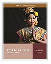 Thai woman Word Templates