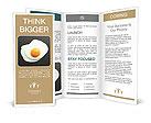 Scrambled eggs Brochure Templates