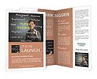 Human resource concept Brochure Templates