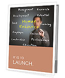 Human resource concept Presentation Folder