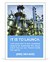 Petrochemical plant Ad Templates