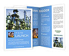 Petrochemical plant Brochure Templates