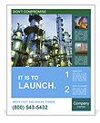 Petrochemical plant Poster Templates