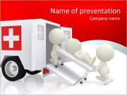 3D acute care PowerPoint Templates