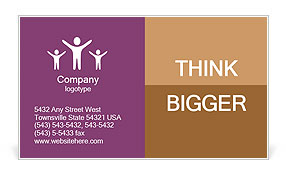 0000101222 Business Card Template