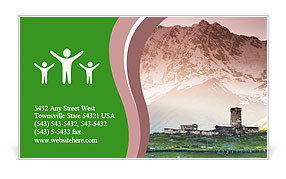 0000101241 Business Card Template