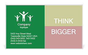 0000101314 Business Card Template