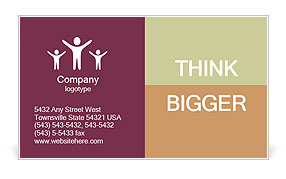 0000101338 Business Card Template