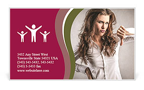 0000101366 Business Card Template