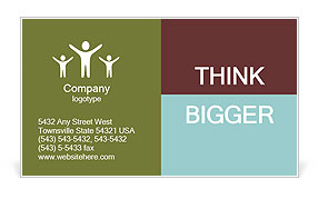 0000101425 Business Card Template