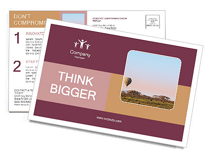 0000101534 Postcard Template