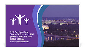 0000101666 Business Card Template