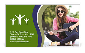 0000101668 Business Card Template