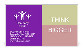 0000101684 Business Card Template
