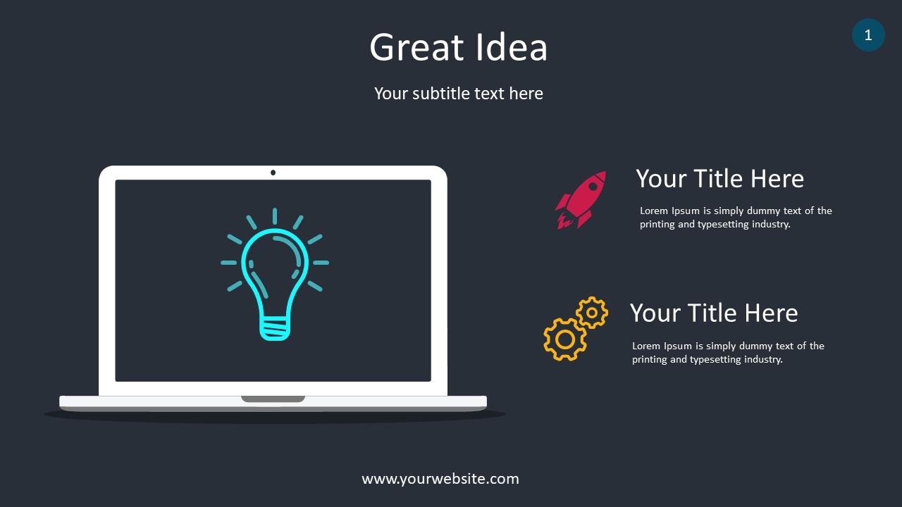 Great Idea PowerPoint Infographics