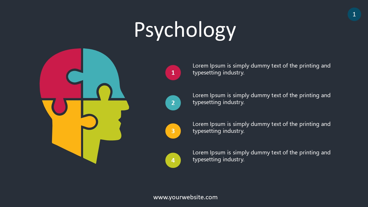 Psychology PowerPoint Infographics