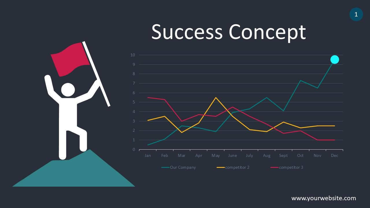 Success Concept PowerPoint Infographics