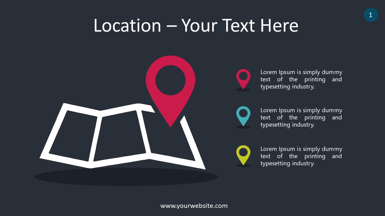 Location PowerPoint Infographics