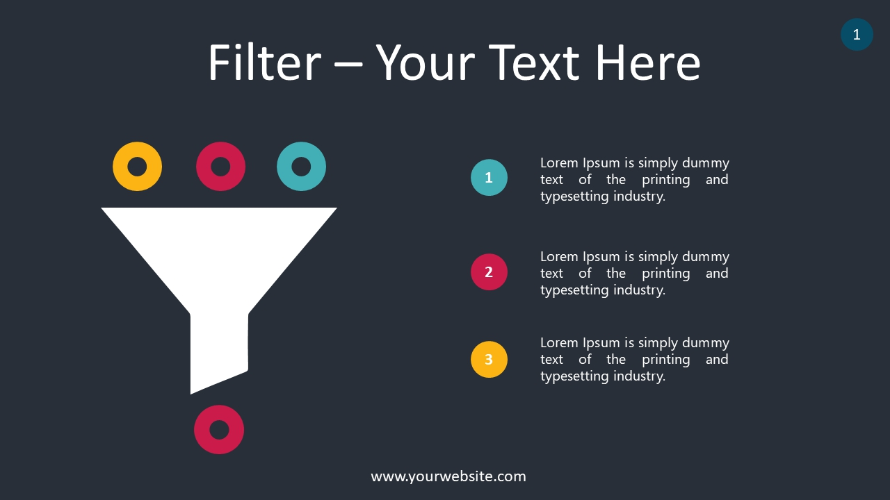 Filter PowerPoint Infographics