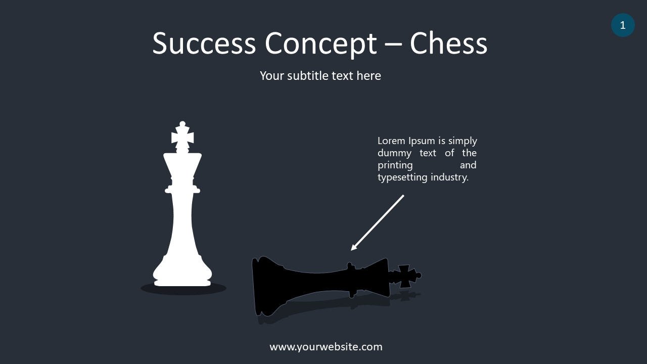 Success Concept PowerPoint Infographics