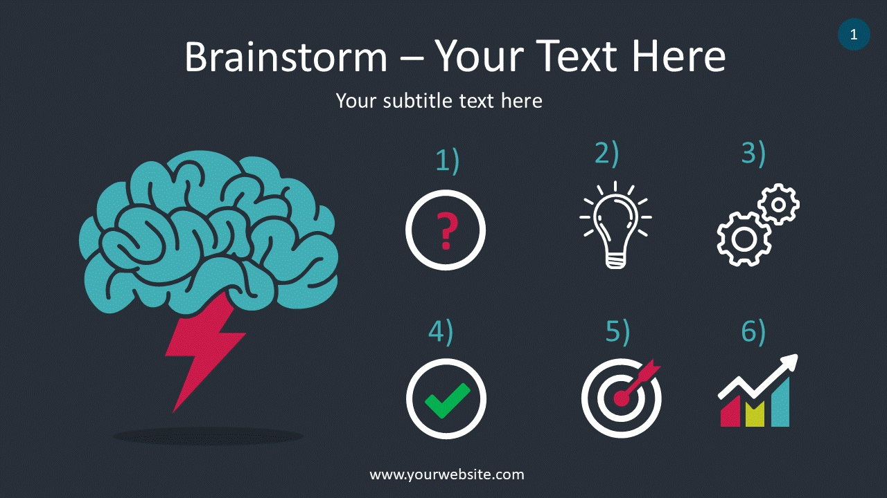 Brainstorm PowerPoint Infographics