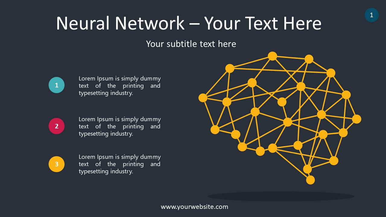 Neural Network PowerPoint Infographics