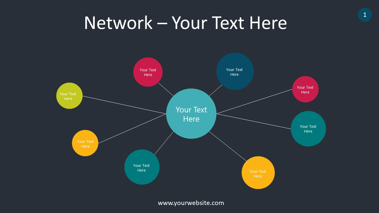 Network PowerPoint Infographics
