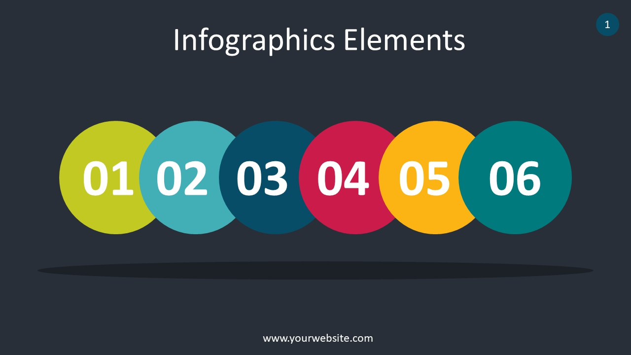 Creative Infographics Elements PowerPoint Infographics