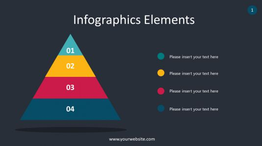 Pyramid Infographics Elements PowerPoint Infographics