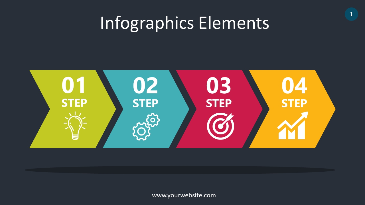 Arrow Infographics Elements PowerPoint Infographics