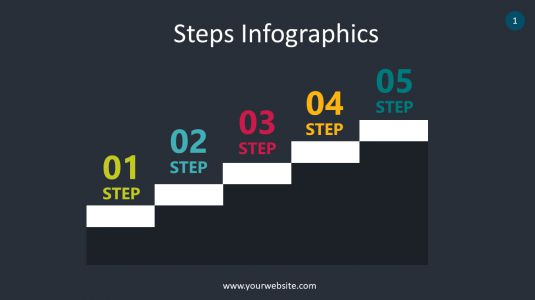Steps Infographics PowerPoint Infographics