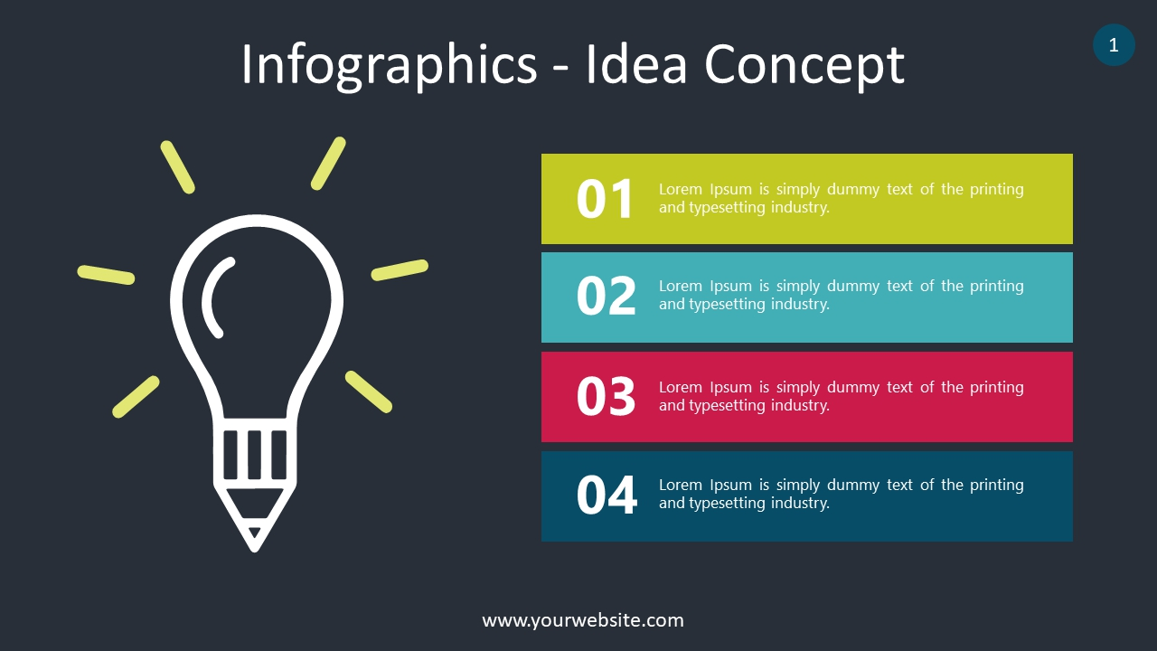List Infographics PowerPoint Infographics
