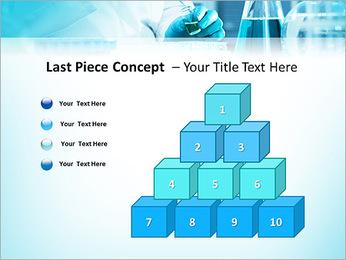 Des experts analysent en laboratoire Modèles des présentations  PowerPoint - Diapositives 11