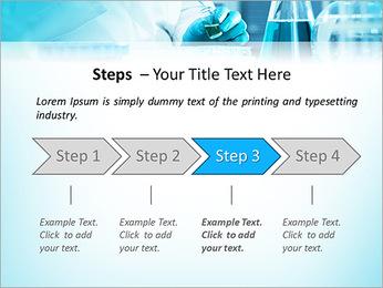 Des experts analysent en laboratoire Modèles des présentations  PowerPoint - Diapositives 4