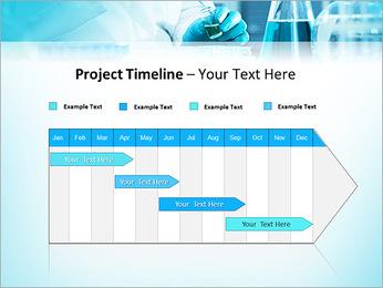 Des experts analysent en laboratoire Modèles des présentations  PowerPoint - Diapositives 5