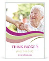 A helping hand for seniors Ad Template
