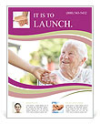 A helping hand for seniors Flyer Templates