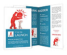 Aggressive people Brochure Templates
