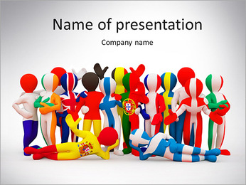 Global Team PowerPoint Template