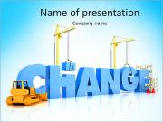 Change for Better Sjablonen PowerPoint presentaties