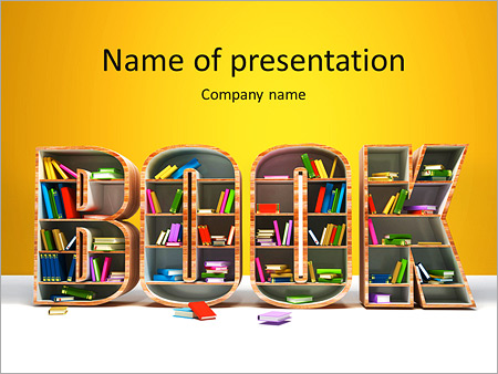 creative book shell powerpoint template backgrounds google slides