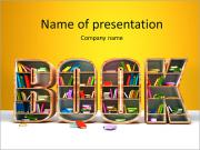 Creative Book Shell Шаблоны презентаций PowerPoint