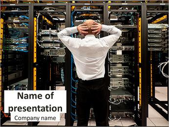 Data Center Specialist PowerPoint Template